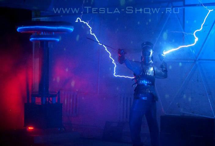 Тесла шоу для театра